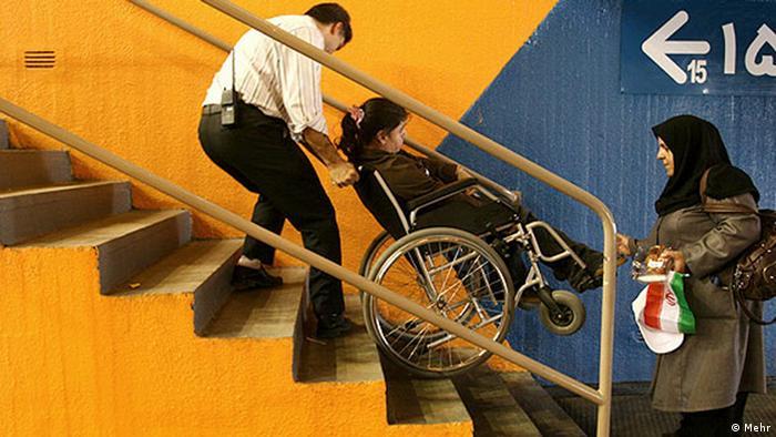 Menschen mit Behinderung im Iran