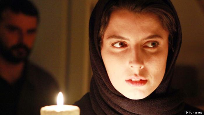 لیلا حاتمی در نمایی از فیلم چیزهایی هست که نمیدانی ساخته فردین صاحب زمانی