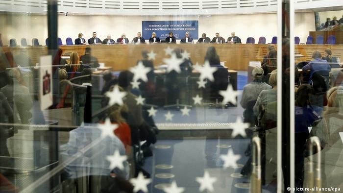 Prozess gegen Polen in Strasbourg