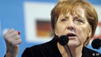 Merkel in Dresden