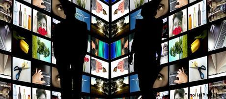 Symbolbild Journalismus TV Online