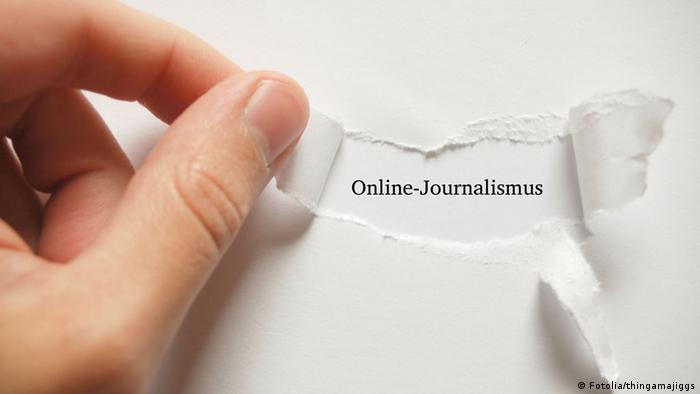 Symbolbild Online Journalismus (Fotolia/thingamajiggs)