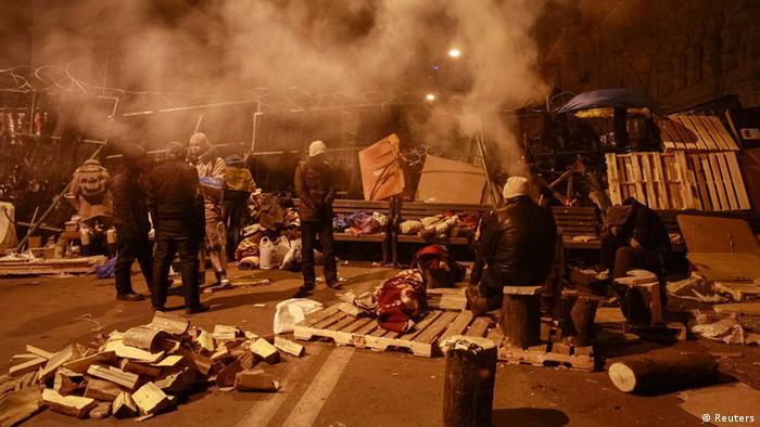 Ніч на Майдані