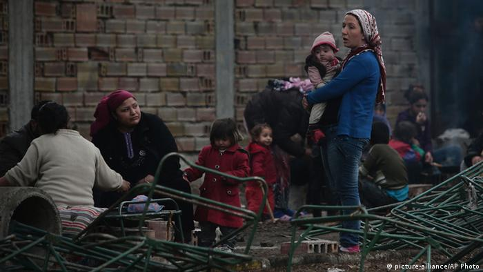 Syrian refugees in Bulgaria (photo: picture-alliance/AP Photo)