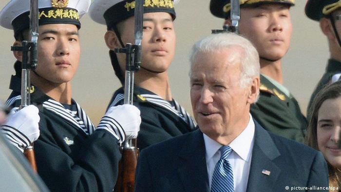 US Vizepräsident Biden in China (picture-alliance/dpa)