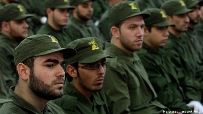 Hisbollah-Kämpfer in Beirut (Archivbild: AP)