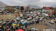 Transportation system in capital Kabul in Afghanistan on 02.12.2013. still many old trucks, buses and mini buses are working in Kabul. the afghan government could not make an systematic transport in last 12 years. Photo: DW/ H.Sirat via: DW/Mohammad Gol Ahmad
