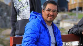 Fisherman Maligiak of Uummannaq (Copyright: DW/Mark Brooks)