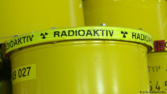 Symbolbild radioaktive Strahlung