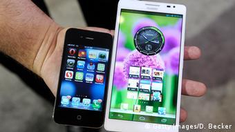 USA China Elektronik Huawei Smartphone (Getty Images/D. Becker)