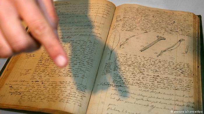 Deutschland Humboldt-Tagebücher bleiben