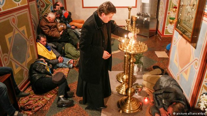Ukraine Proteste Kirche 30.11.2013