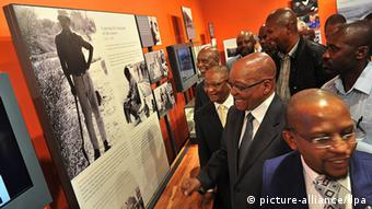Opening of the Nelson Mandela Center for Memory in Johannesburg