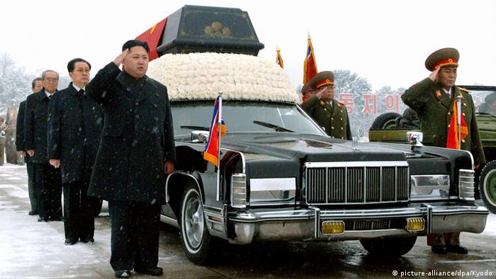 Kim Jong Un und Jang Song-Thaek Begräbnis Kim Jong Il Archiv 2011