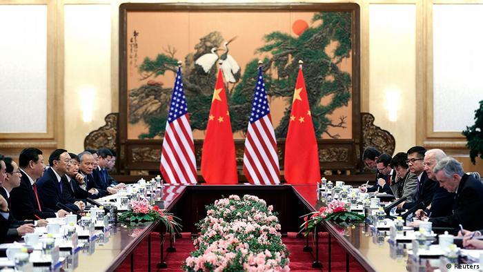 China USA Treffen Joe Biden bei Xi Jinping in Peking