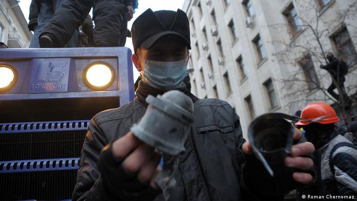 Ukraine Opfer der Schlägerei in Kiew