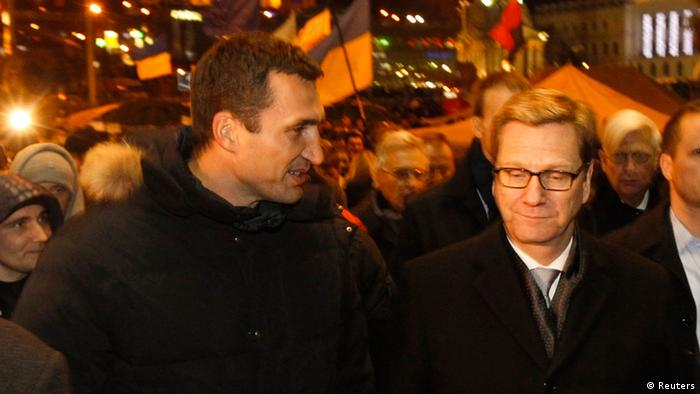 Guido Westerwelle in Kiew 04.12.2013