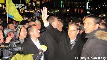 Guido Westerwelle und Vitaly Klitschko in Kiew