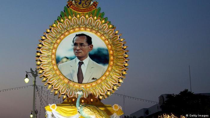 Thailand Bangkok Geburtstag König Bhumibol
