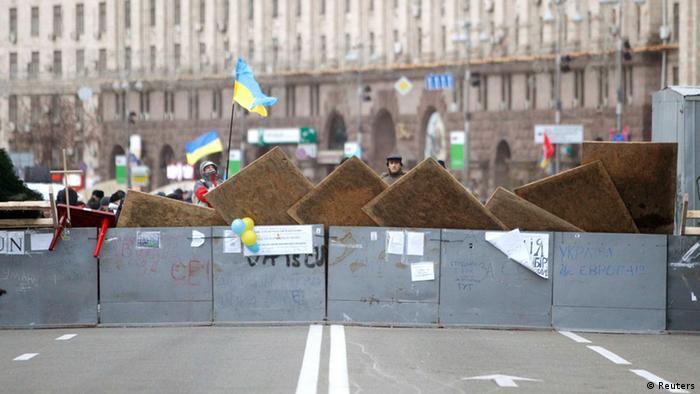 Protesters in Kyiv Photo: REUTERS/Vasily Fedosenko