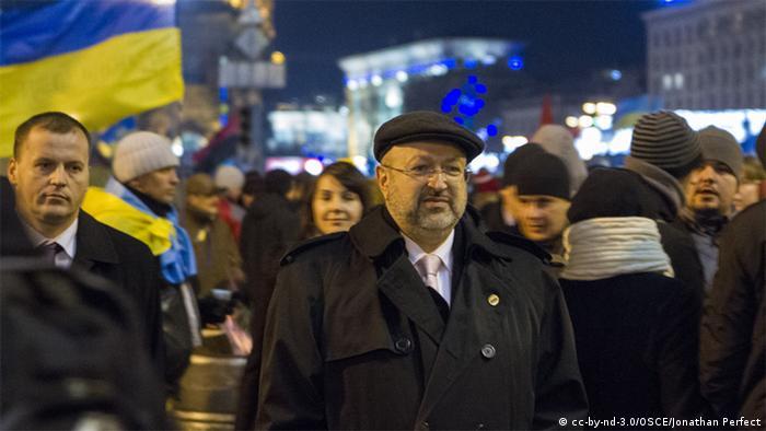 Україна, Євромайдан, Київ, ОБСЄ, Заннієр, протести