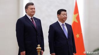 Xi und Janukowitsch 05.12.2013 Peking