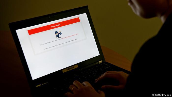 Symbolbild China Internetzensur Zensur Internet (Getty Images)