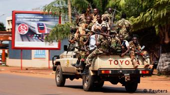 Seleka rebels in Bangui, CAR 05.12.2013