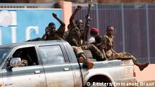 zum Thema - Französische Truppen patrouillieren in Zentralafrikanischer Republik