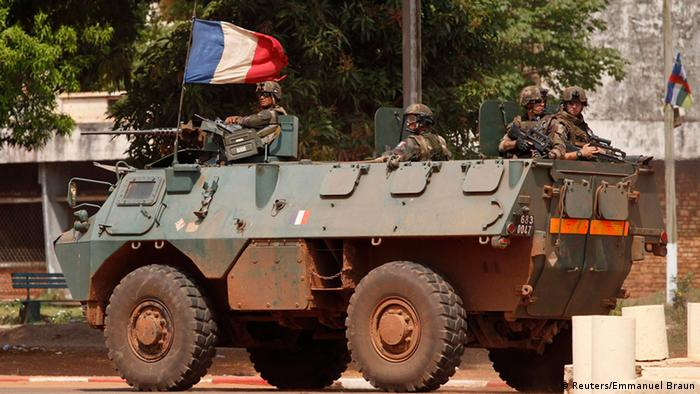 French troops patrol Central African Republic