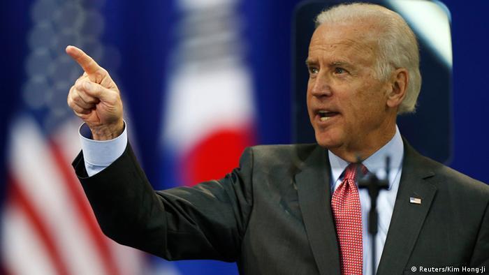 Vizepräsident Joe Biden in Südkorea