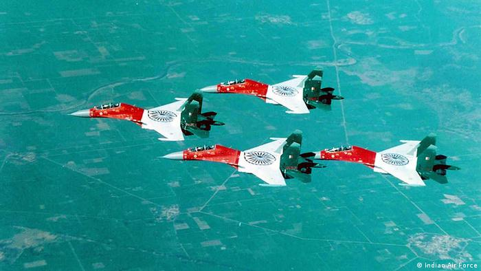 Indien Luftwaffe Kampfflugzeug Sukhoi