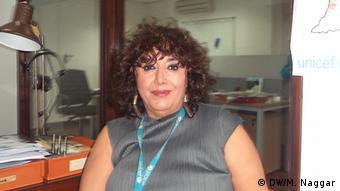 Soha Boustani, UNICEF Libanon (Foto: Mona Naggar)