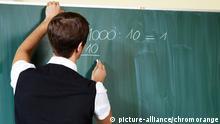 Deutschland junger Grundschullehrer