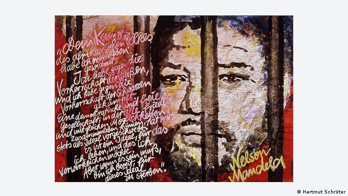 Nelson Mandela Plakat 1983