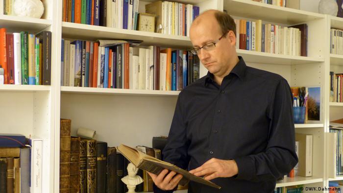 Der evangelische Pfarrer Joachim Gerhardt