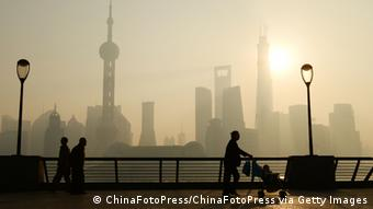 Smog in Shanghai (Foto: /ChinaFotoPress via Getty Images)
