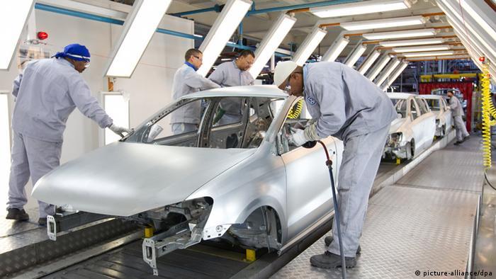 Volkswagen baut schon seit längerem Pkw in Südafrika, Volkswagen-Werk im südafrikanischen Uitenhage