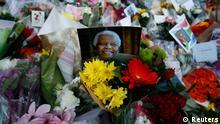 Trauer um Nelson Mandela
