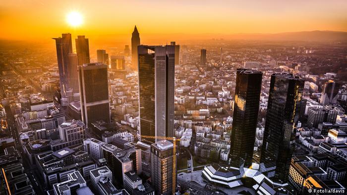 Metrópole financeira da Alemanha quer se tornar verde
