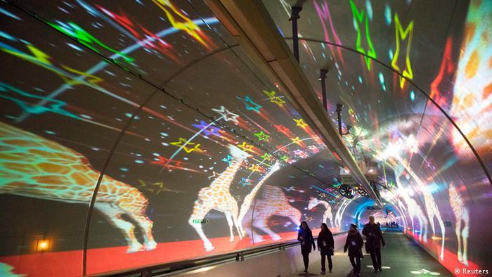 Lyon Fête des Lumières 2013 (Reuters)
