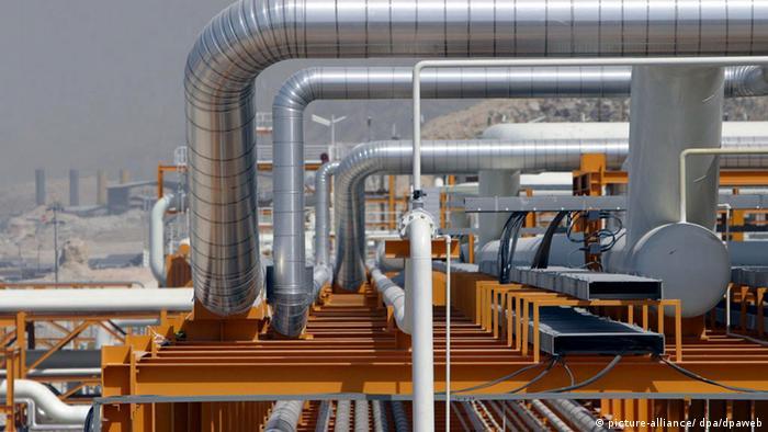 Erdgasförderung im Iran, Wirtschaft (picture-alliance/ dpa/dpaweb)