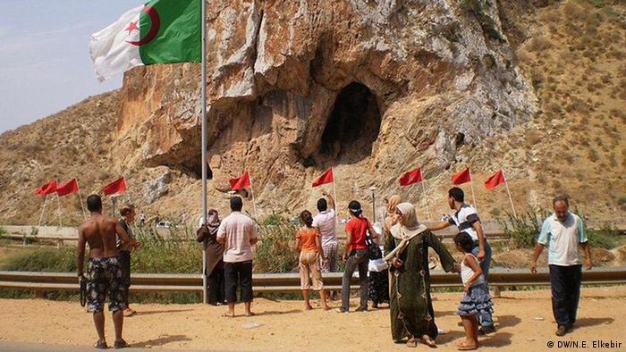 Grenze Algerien und Marokko Grenzschliessung