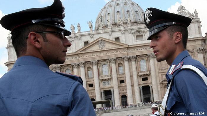 Italien Polizei Symbolbild