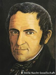 Franz Xaver Gruber Stille Nacht Porträt (Stille Nacht Gesellschaft)