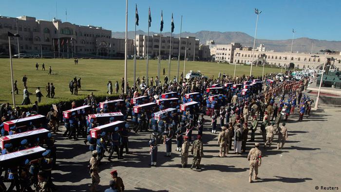 Jemen Anschlag Verteidigungsministerium Begräbnis 09.12.2013