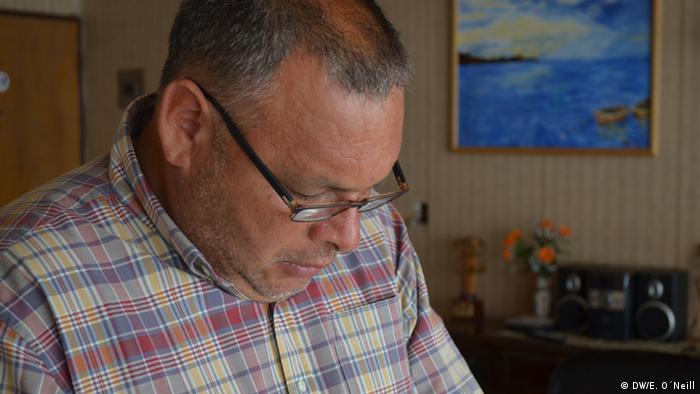 El ingeniero agrónomo Rodrigo Mundaca, portavoz de Modatima.