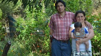 Jorge Ramirez mit seiner Familie
