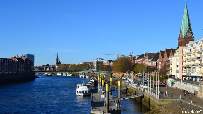 Die Schlachte in Bremen
