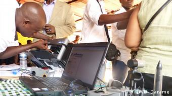 Wählerregistrierung in Guinea-Bissau